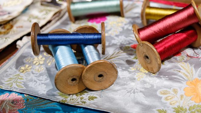 Espolines e indumentaria tradicional: amor a primera vista